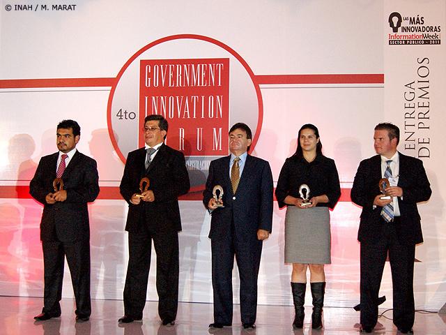 INAH: una de las 40 instituciones más innovadoras del sector público en 2011