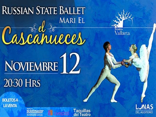 El Ballet Ruso de Mari El presenta el Cascanueces en Vallarta
