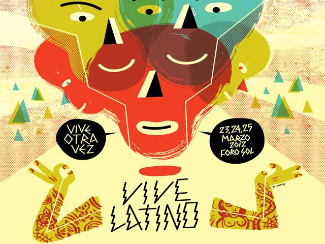 Publican la cartelera del Festival Vive Latino 2012