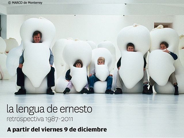 La retrospectiva 1987-2011: Ernesto Neto en el MARCO de Monterrey