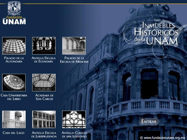 Conoce los Inmuebles Históricos de la UNAM