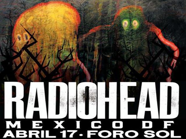 Radiohead en México en 2012