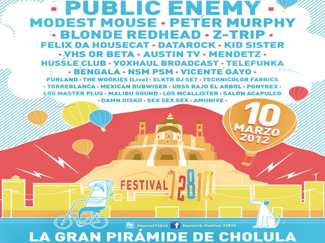 Festival musical 72810 en la Pirámide de Cholula