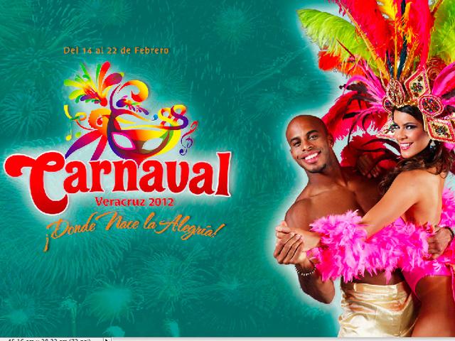 Programa de Eventos y Conciertos del Carnaval de Veracruz 2012