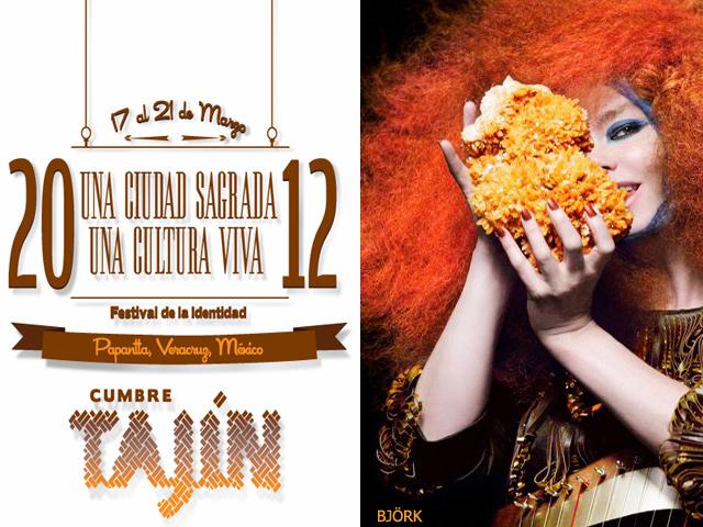 Björk, Caifanes, Café Tacvba y muchos más en la Cumbre Tajín 2012