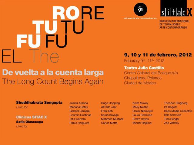 SITAC X: Simposio Internacional de Teoría sobre Arte Contemporáneo