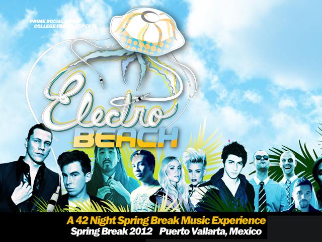 Tiësto, Steve Aoki y otros DJs animarán las noches del ElectroBeach Puerto Vallarta