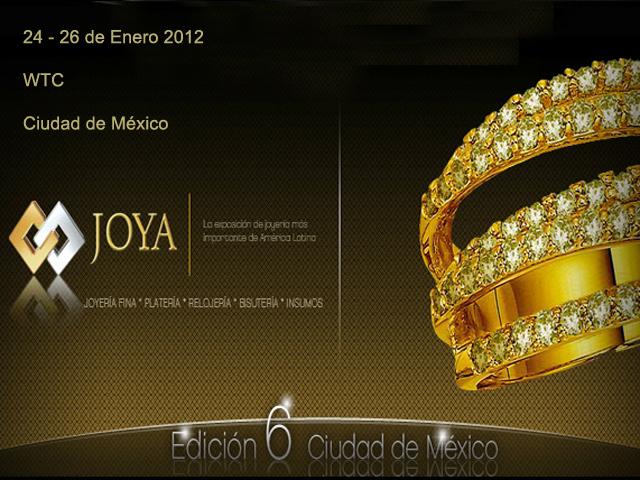 Expo Joya 2012 en México D.F.