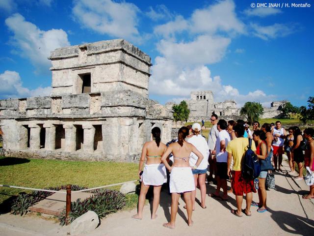 En 2011, Tulum rebasó al millón de visitantes