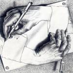 Figuras imposibles y mundos imaginarios de Escher se exhiben en el MUNAL