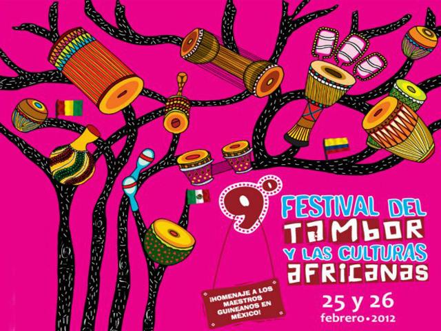 9º Festival del tambor y las culturas Africanas, México 2012