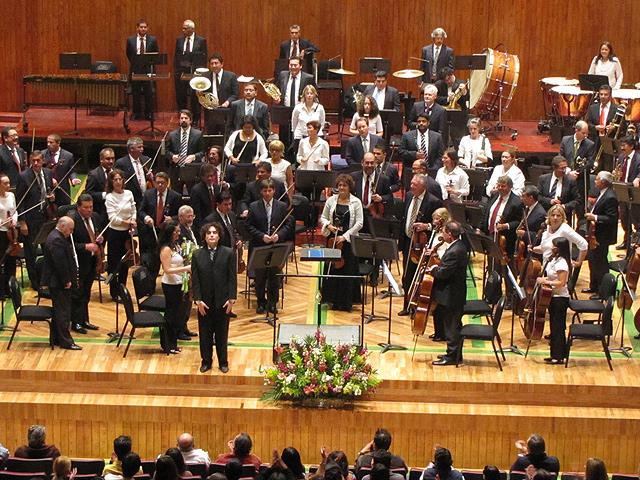 Orquesta Filarmónica de la Ciudad de México, Conciertos Enero-Abril 2012