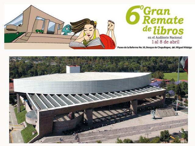 6º Gran remate de libros en el Auditorio Nacional