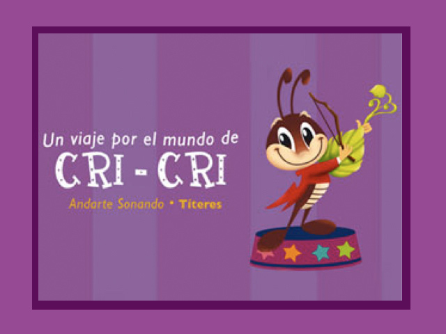 """""""Un Viaje por el Mundo de Cri Cri"""" llega al Forum Cultural Guanajuato"""
