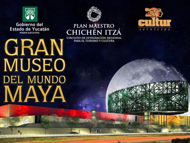 Lanzó el Gran Museo del Mundo Maya convocatoria para crear su imagen corporativa
