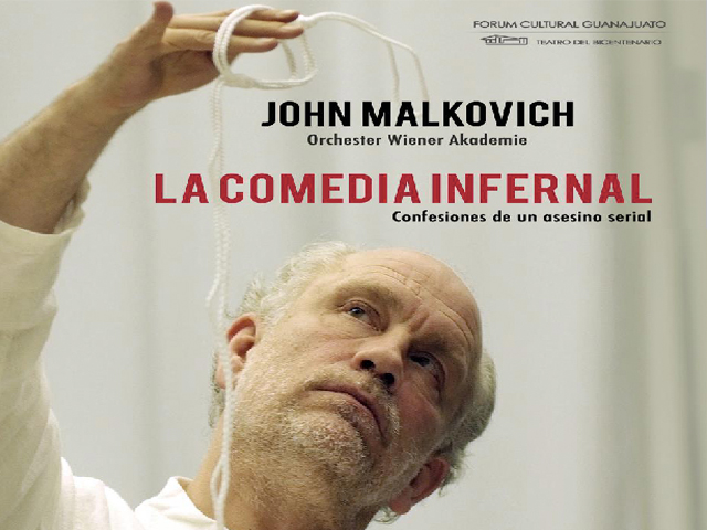 John Malkovich trae a México las confesiones de un asesino serial
