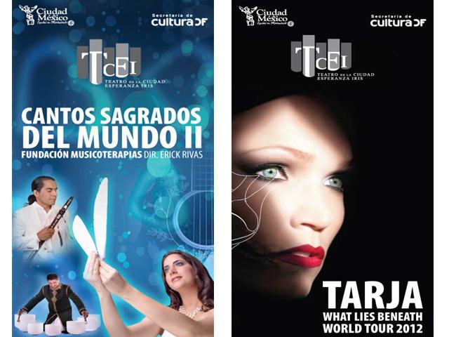 Teatro Esperanza Iris presenta Cantos Sagrados II y Tarja Turunen World Tour