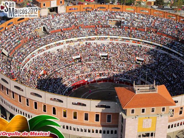 Cartel Taurino Feria San Marcos 2012 - Plaza de Toros Monumental de Aguascalientes