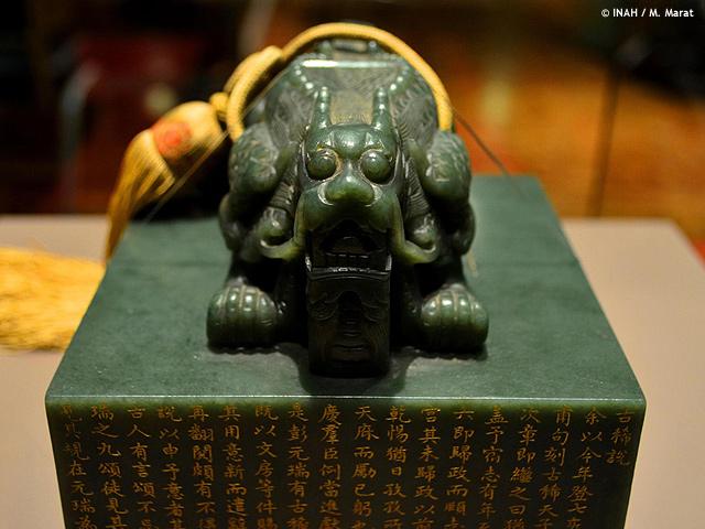 El Jade, piedra preciosa que une a México y China. Museo Nacional de Antropología