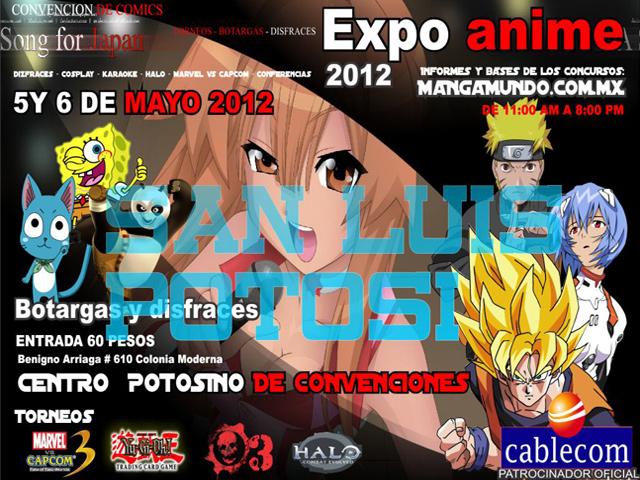 Expo Anime 2012 en varias ciudades de México