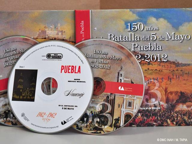 Fonoteca del INAH edita triple disco para celebrar 150 años de la Batalla de Puebla