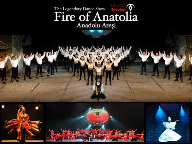 Fire of Anatolia, uno de los mejores espectáculos del mundo llega a México