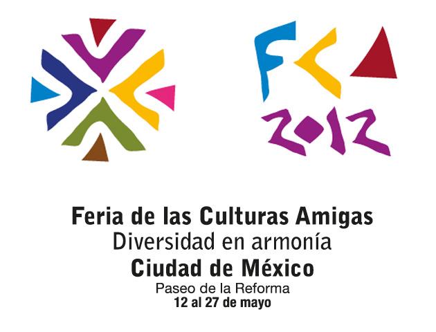 Feria de las Culturas Amigas 2012 en el Paseo de la Reforma