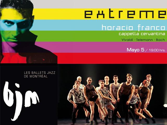 Horacio Franco en concierto con la Capella Cervantina y Les Ballets Jazz de Montréal