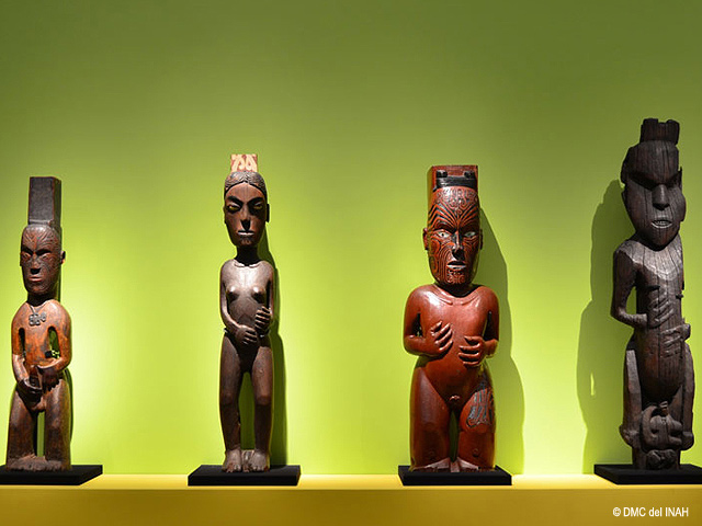 E Tū Ake: tesoros de los Maori en el Museo Nacional de las Culturas