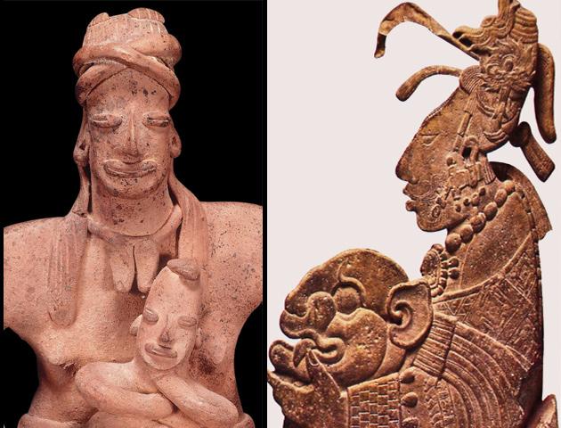 Expertos del INAH revelan el papel preponderante de la madre en el mundo prehispánico
