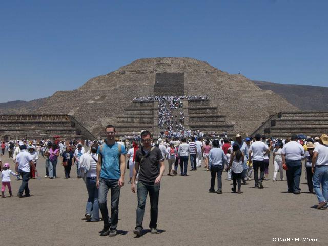 INAH registra aumento de flujo a zonas arqueológicas y museos