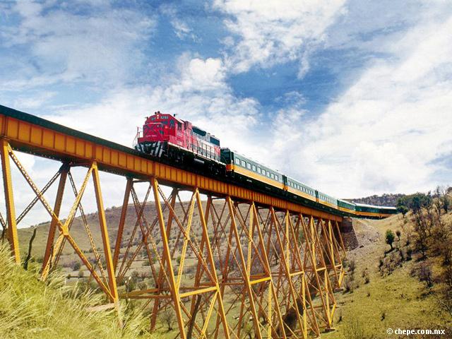 Tren El Chepe, Chihuahua-Los Mochis pasando por las Barrancas del Cobre