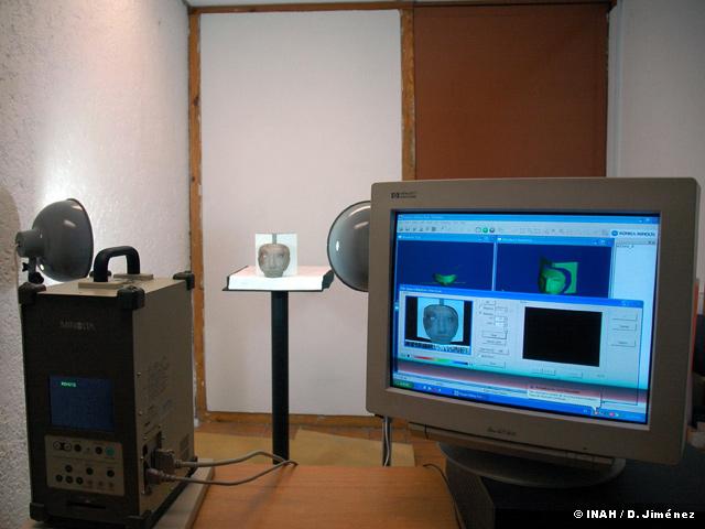 El INAH construye una base de datos de piezas prehispánicas en 3D