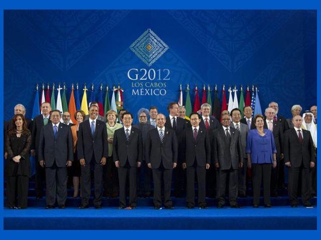 Finaliza la cumbre del G20 en México con la Declaración de Los Cabos
