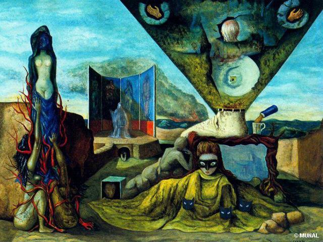 MUNAL exhibe el Surrealismo de Europa y Latinoamérica