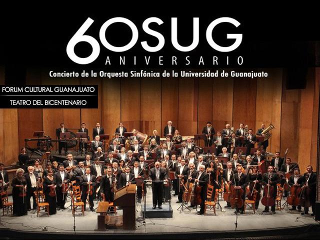 Concierto gratuito de la OSUG en el Teatro del Bicentenario