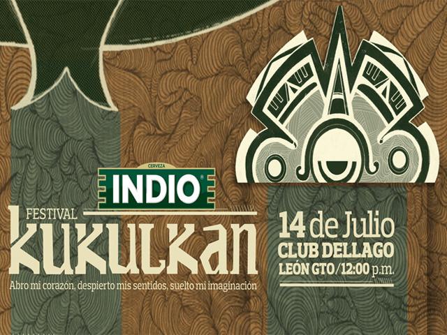 Primera edición del Festival Kukulkan en León, 14 de julio de 2012