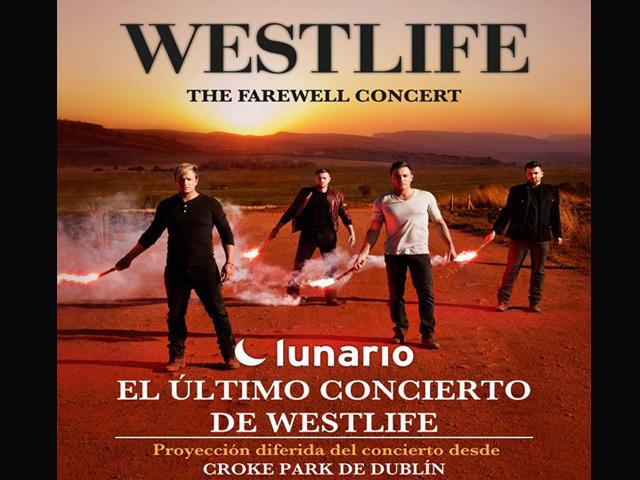 Concierto de despedida de Westlife se transmitirá desde el Lunario
