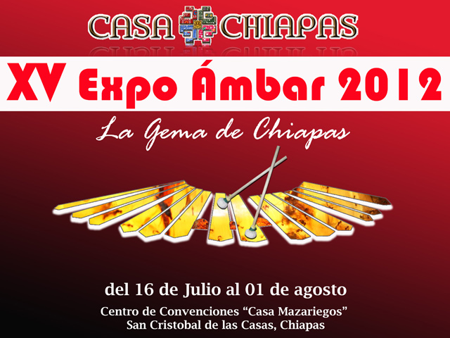 Expo Ámbar 2012 en San Cristóbal de las Casas