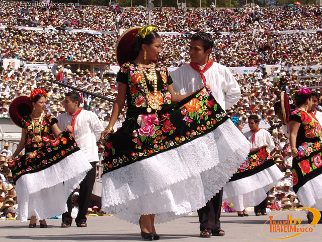 Programa de La Guelaguetza y Lunes de Cerro 2012 en Oaxaca