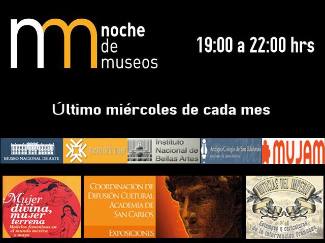 Noche de Museos, 25 de julio de 2012