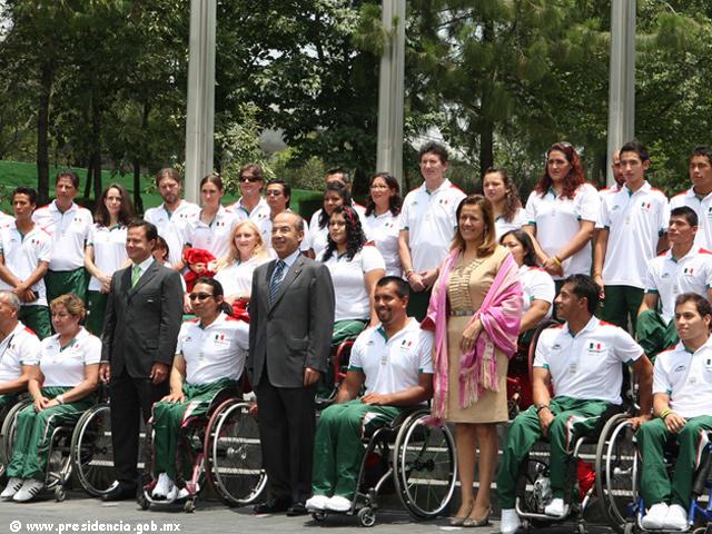 Participarán 183 atletas mexicanos en los Juegos Olímpicos y Paralímpicos de Londres 2012