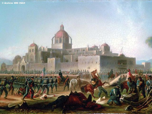 A 165 años de la Batalla de Churubusco