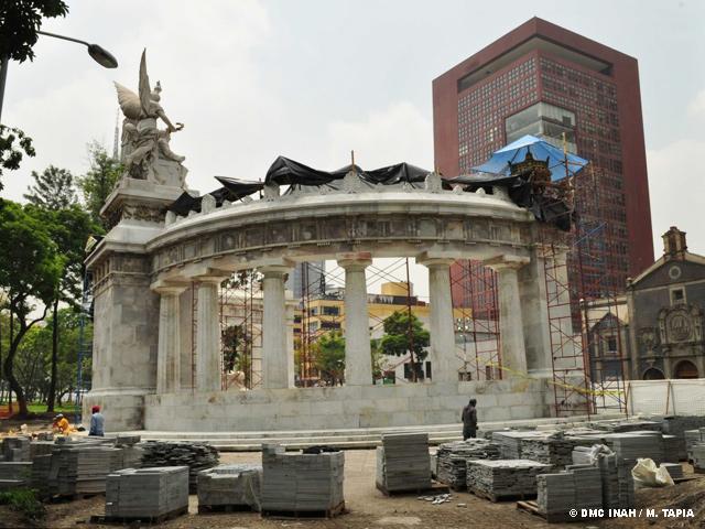 Remodelación de la Alameda Central en el D.F.