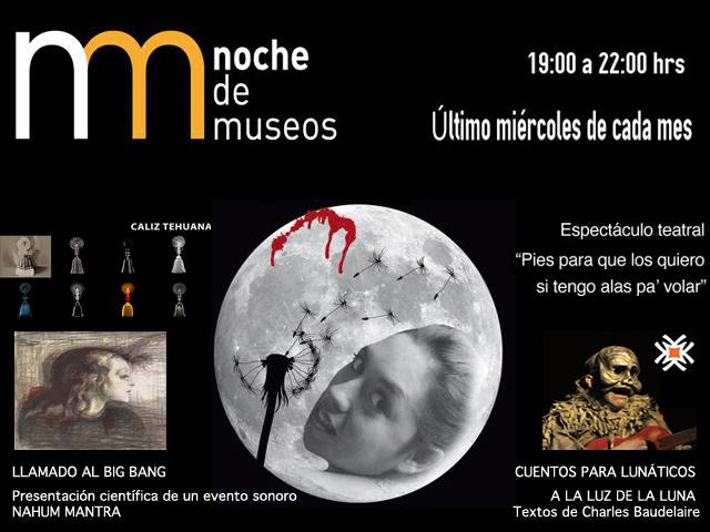 Noche de Museos, 29 de agosto de 2012