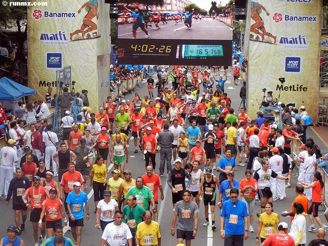 Maratón Internacional de la Ciudad de México 2012