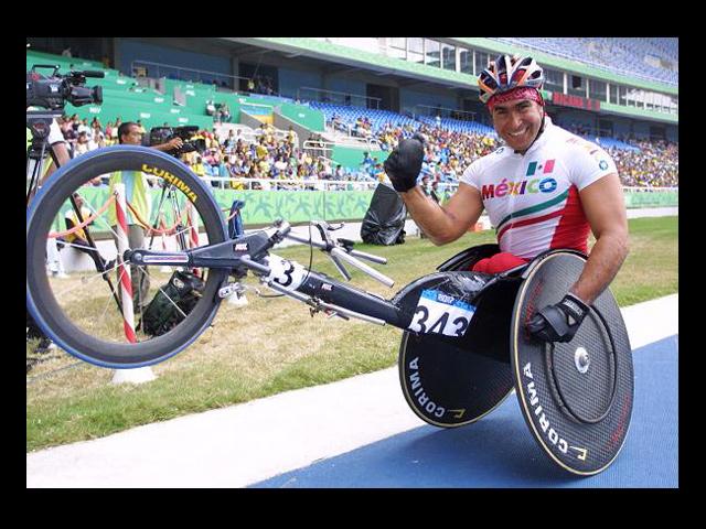 Atletas mexicanos en los Juegos Paralímpicos Londres 2012