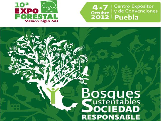 Expo Forestal México Siglo XXI en Puebla