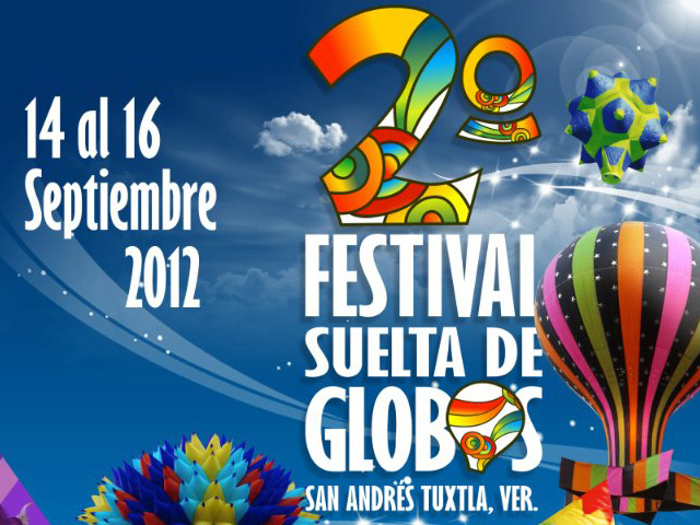 Festival Suelta de Globos San Andrés Tuxtla 2012