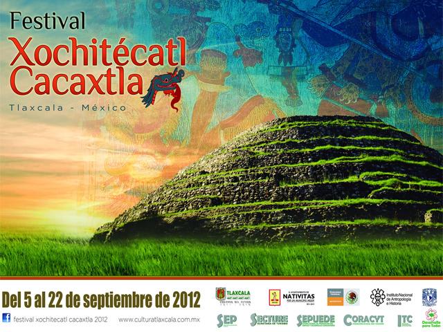 Festival Xochitécatl – Cacaxtla 2012 en Tlaxcala
